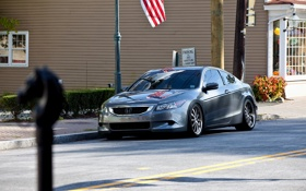 Обои улица, купе, тачки, honda, cars, хонда, auto wallpapers