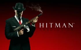 Обои автомат, киллер, убийца, ассасин, мафия, хитман, Агент 47