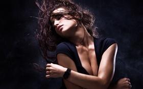 Обои грудь, желание, танец, Model, сексуальность, пластика