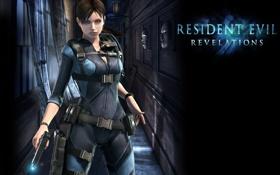 Обои пистолет, оружие, Resident Evil, Resident Evil: Revelations, Jill Valentine, Biohazard: Revelations