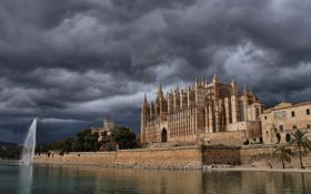 Картинка фонтан, Испания, Spain, Балеарские острова, Balearic Islands, Palma, Пальма-де-Майорка