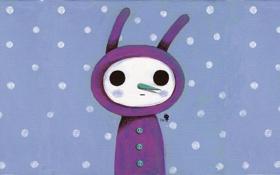 Картинка чудик, снежная женщина, Kim Hana