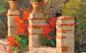 Обои арт, Sean Wallis, Stone And Mortar