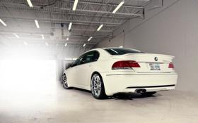 Обои cars, auto, Bmw, White, wallpapers auto, 7series, обои бмв