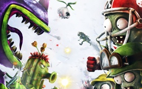 Картинка Plants vs Zombies, Pop Cap, Plants vs Zombies Garden Warfare