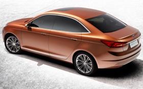 Обои Concept, Ford, концепт, автомобиль, форд, 2013, Escort