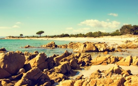 Обои summer, beach, mediterranean, coast, sea