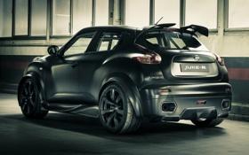 Обои кроссовет, Concept, чёрный, тюнинг, концепт, Ниссан, Nissan