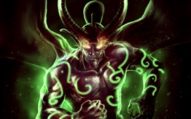 Обои dota, warcraft 3, дота, иллидан, illidan, defense of the ancients, Branflakes2