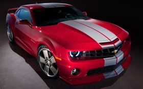 Картинка красный, Red, Chevrolet, Camaro