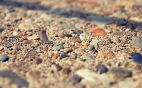 Картинка камни, берег, макро