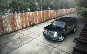 Картинка black, cadillac, escalade