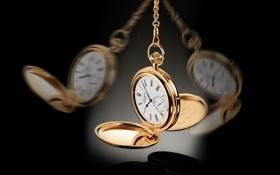 Картинка цепочка, часы, карманные