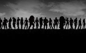 Картинка army, mass effect, Shephard, шепард, персонажи, оружие