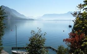 Картинка вода, природа, озеро, фото, Австрия, St Gilgen