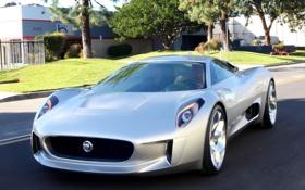 Обои Concept, Jaguar, концепт, ягуар, C-X75