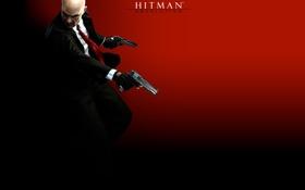 Картинка пистолет, hitman, хитман 5, hitman 5, absolution, хитман, silverballer