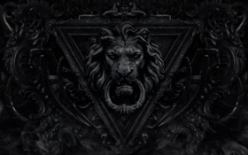 Картинка лев, leo, Львиное сердце
