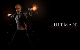 Картинка пистолет, стрельба, hitman, хитман 5, hitman 5, absolution, хитман