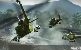 Обои игры, Attack, CoD Black Ops