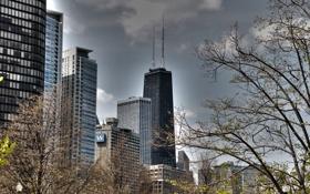 Обои city, здания, небоскребы, USA, америка, чикаго, Chicago