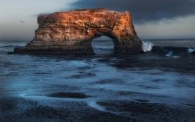 Картинка Мост, штат Калифорния, Санта-Крус, State Beach