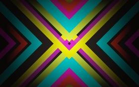 Обои обои, полосы, текстура, линии, фон, разноцветно, ярко