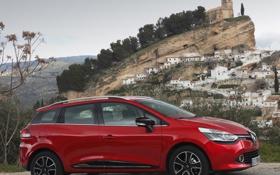 Картинка вид сбоку, рено, автомобиль, Clio Estate, Renault