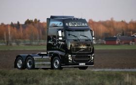 Обои Volvo, Грузовик, Вольво, Автомобиль, Truck, Тягач, FH16