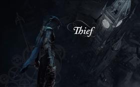 Обои игра, башни, стелс, eidos montreal, Thief