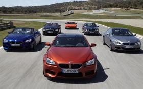 Картинка дорога, фон, BMW, БМВ, передок, mixed