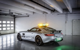 Обои Mercedes, мерседес, DTM, GT S, AMG, Safety Car, C190
