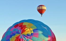 Картинка спорт, небо, шары