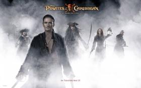 Обои Johnny Depp, актриса, актер, Джонни Депп, Кира Найтли, Keira Knightley, пираты карибского моря