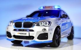 Картинка бмв, BMW, Police, AC Schnitzer, 2015