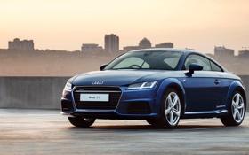 Обои Audi, ауди, Coupe, quattro, 2015, ZA-spec, S line