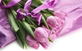 Обои цветы, букет, тюльпаны