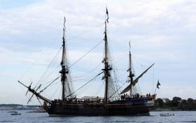 Обои корабли, парусные, Pirate ship, фото