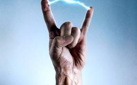 Обои рука, искра, разряд, пальцы, адреналин, Crank, высокое напряжение