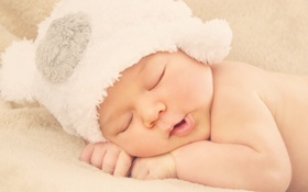Обои ребенок, малыш, лицо, child, newborn