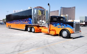Обои peterbilt, автомобиль, truck, грузовик