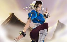 Картинка девушка, боец, Street Fighter, Chun-Li