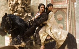 Обои конь, фильм, принц персии, prince of persia, movie, пески времени, the sands of time