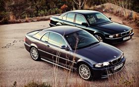 Обои BMW, бумер, E46, E38, Bimmer, 750il