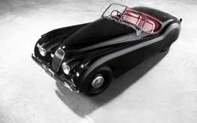 Картинка авто, ретро, обои, Jaguar, ягуар, wallpaper, 1953