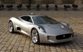 Картинка car, машина, Concept, обои, Jaguar, wallpapers, C-X75