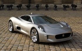 Обои C-X75, обои, Concept, машина, car, Jaguar, wallpapers