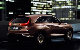 Обои машина, Concept, ночь, огни, Acura, SUV-X