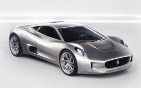 Обои C-X75, car, Jaguar, Concept