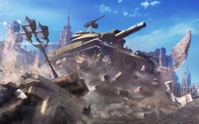 Картинка WoT, World of Tanks, Мир Танков, Wargaming Net, Т49